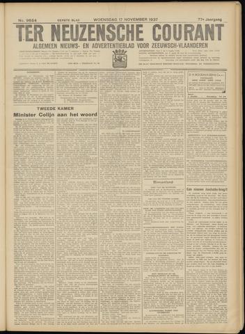 Ter Neuzensche Courant. Algemeen Nieuws- en Advertentieblad voor Zeeuwsch-Vlaanderen / Neuzensche Courant ... (idem) / (Algemeen) nieuws en advertentieblad voor Zeeuwsch-Vlaanderen 1937-11-17