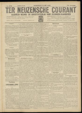 Ter Neuzensche Courant. Algemeen Nieuws- en Advertentieblad voor Zeeuwsch-Vlaanderen / Neuzensche Courant ... (idem) / (Algemeen) nieuws en advertentieblad voor Zeeuwsch-Vlaanderen 1938-05-18
