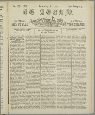 De Zeeuw. Christelijk-historisch nieuwsblad voor Zeeland 1912-04-06