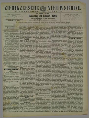 Zierikzeesche Nieuwsbode 1905-02-23
