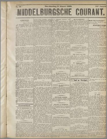 Middelburgsche Courant 1922-03-09