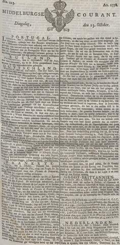 Middelburgsche Courant 1778-10-13