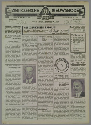 Zierikzeesche Nieuwsbode 1937-03-12