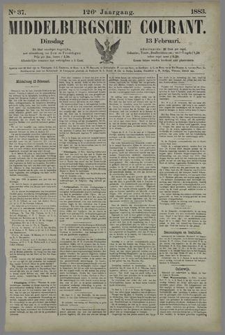 Middelburgsche Courant 1883-02-13