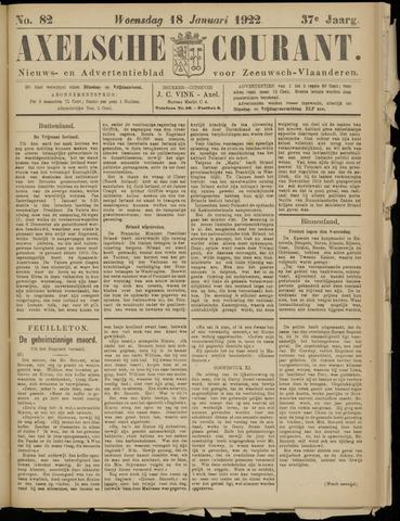 Axelsche Courant 1922-01-18