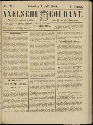 Axelsche Courant 1888-07-07