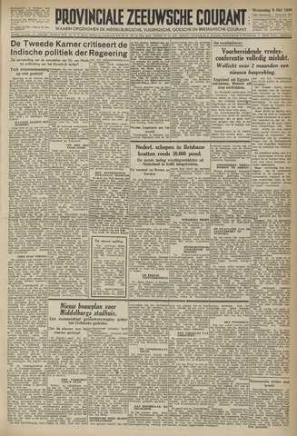 Provinciale Zeeuwse Courant 1946-05-08