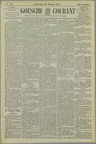 Goessche Courant 1919-01-30
