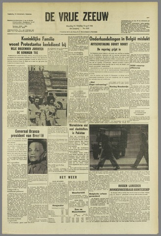 de Vrije Zeeuw 1964-04-13
