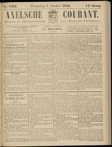 Axelsche Courant 1898-10-05