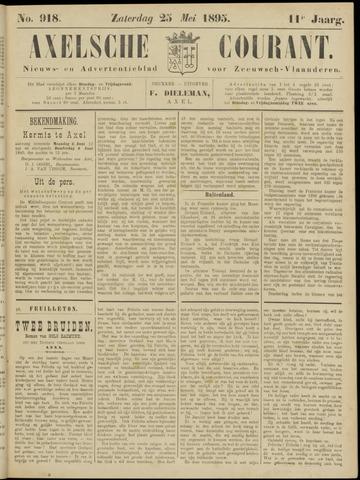 Axelsche Courant 1895-05-25