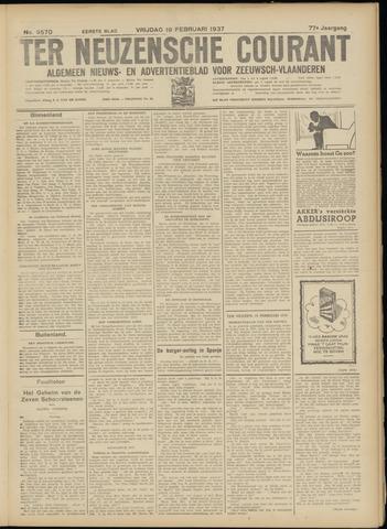 Ter Neuzensche Courant. Algemeen Nieuws- en Advertentieblad voor Zeeuwsch-Vlaanderen / Neuzensche Courant ... (idem) / (Algemeen) nieuws en advertentieblad voor Zeeuwsch-Vlaanderen 1937-02-19