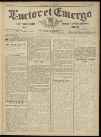 Luctor et Emergo. Antirevolutionair nieuws- en advertentieblad voor Zeeland / Zeeuwsch-Vlaanderen. Orgaan ter verspreiding van de christelijke beginselen in Zeeuwsch-Vlaanderen 1913-07-26