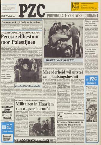 Provinciale Zeeuwse Courant 1985-10-21