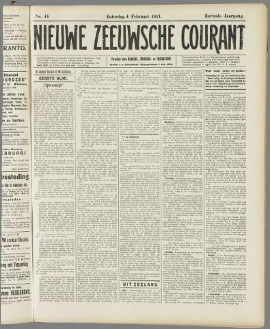 Nieuwe Zeeuwsche Courant 1911-02-04
