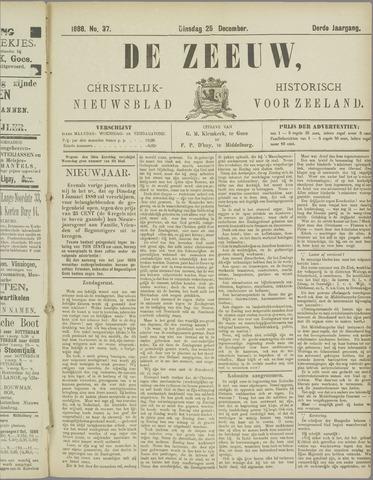 De Zeeuw. Christelijk-historisch nieuwsblad voor Zeeland 1888-12-25