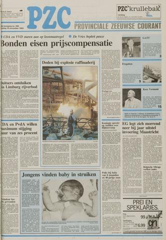 Provinciale Zeeuwse Courant 1992-11-10