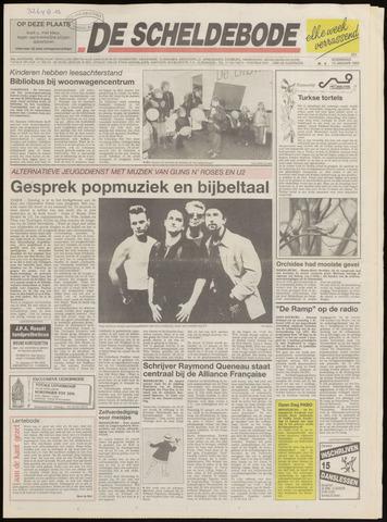 Scheldebode 1993-01-13