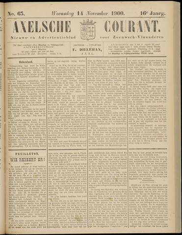 Axelsche Courant 1900-11-14
