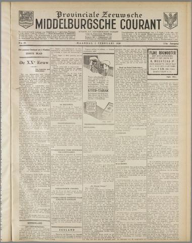 Middelburgsche Courant 1930-02-03