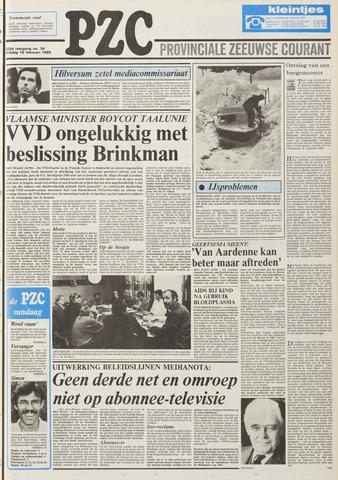 Provinciale Zeeuwse Courant 1985-02-15