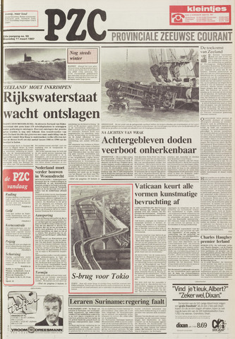 Provinciale Zeeuwse Courant 1987-03-11