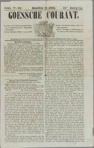 Goessche Courant 1865-04-24