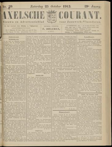 Axelsche Courant 1913-10-25