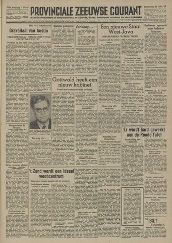 Provinciale Zeeuwse Courant 1948-02-26