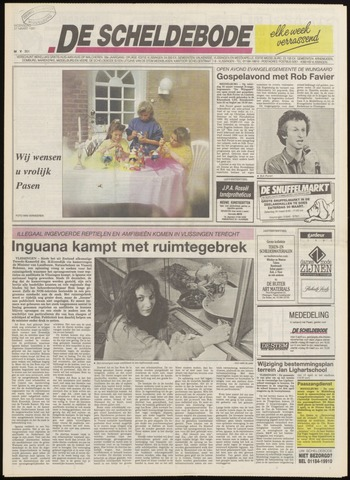 Scheldebode 1991-03-27