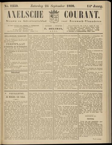 Axelsche Courant 1898-09-24