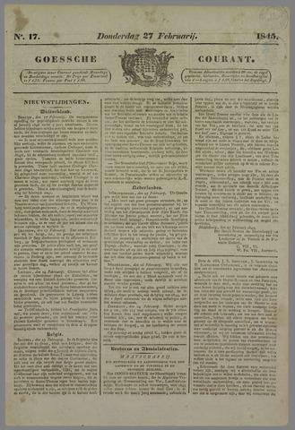 Goessche Courant 1845-02-27