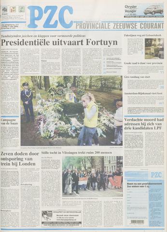 Provinciale Zeeuwse Courant 2002-05-11