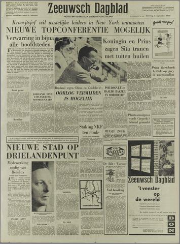 Zeeuwsch Dagblad 1960-09-03