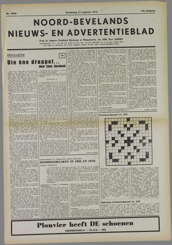 Noord-Bevelands Nieuws- en advertentieblad 1973-08-23
