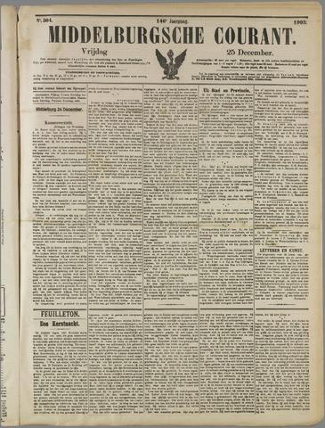 Middelburgsche Courant 1903-12-25