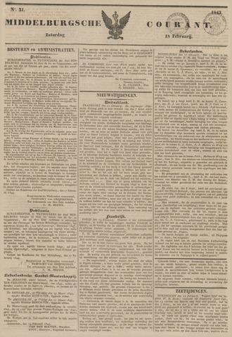 Middelburgsche Courant 1843-02-18
