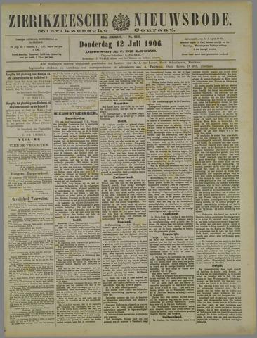 Zierikzeesche Nieuwsbode 1906-07-12