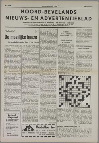 Noord-Bevelands Nieuws- en advertentieblad 1982-07-15