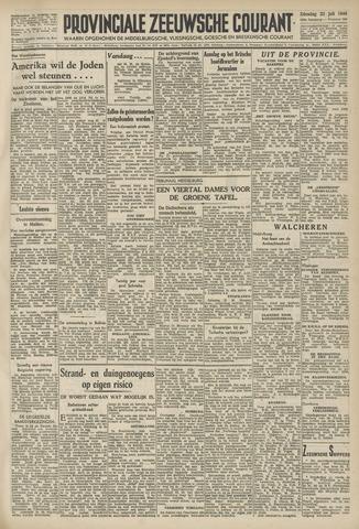 Provinciale Zeeuwse Courant 1946-07-23