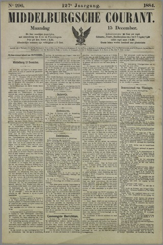 Middelburgsche Courant 1884-12-15