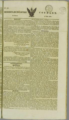 Middelburgsche Courant 1837-05-27