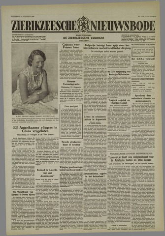 Zierikzeesche Nieuwsbode 1955-08-04