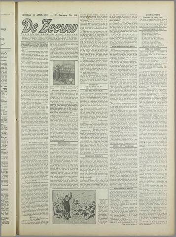 De Zeeuw. Christelijk-historisch nieuwsblad voor Zeeland 1943-04-13