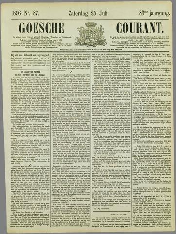 Goessche Courant 1896-07-25