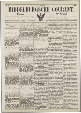 Middelburgsche Courant 1901-01-22
