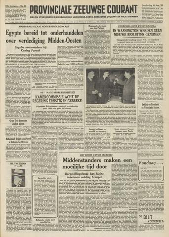 Provinciale Zeeuwse Courant 1952-01-31