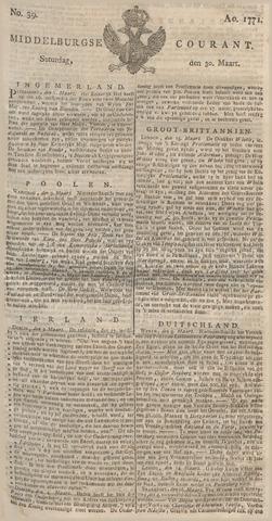 Middelburgsche Courant 1771-03-30