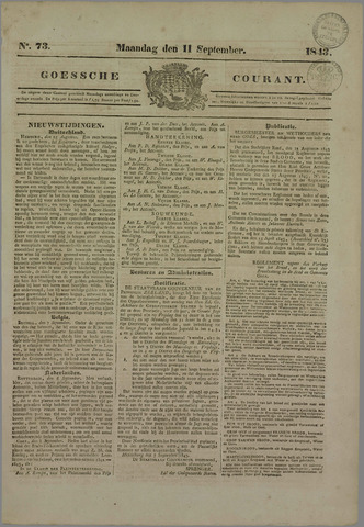 Goessche Courant 1843-09-11