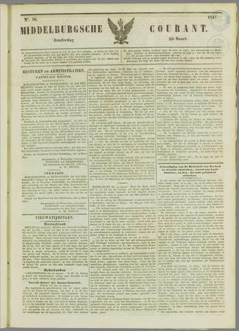 Middelburgsche Courant 1847-03-25